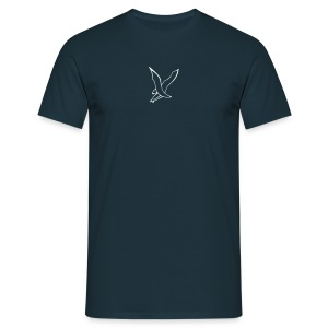 t-shirt blau-d2/3 - Männer T-Shirt