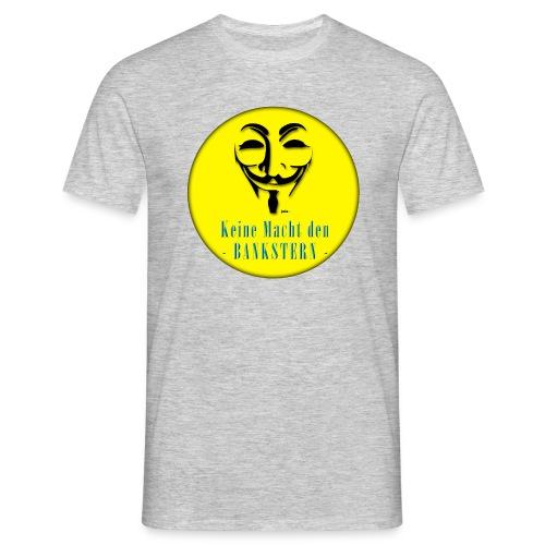 Bankster_ - Männer T-Shirt