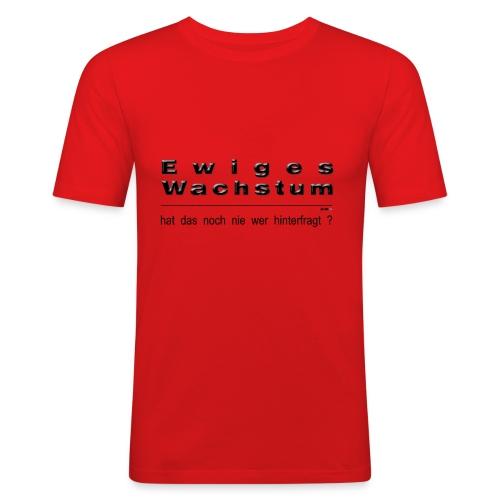 Ewiges Wachstum  - Männer Slim Fit T-Shirt
