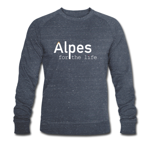 Alpes for the life - Sweat-shirt bio Stanley & Stella Homme