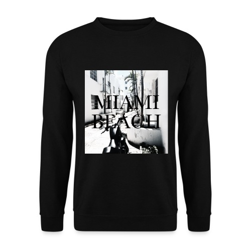 Miami Beach Backyard - Männer Pullover