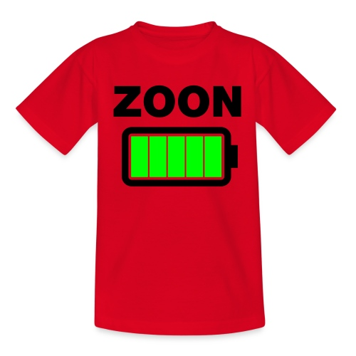 Zoon batt vol - Teenager T-shirt