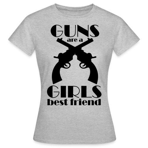 GUNS GIRLS - Frauen T-Shirt