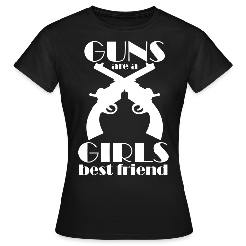 GUNS GIRLS - Frauen T-Shirt