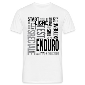 Enduro words - T-shirt Homme