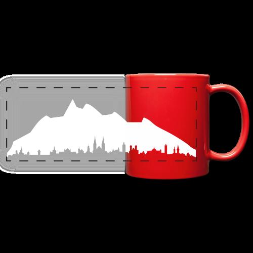 Luzern - Panoramatasse farbig
