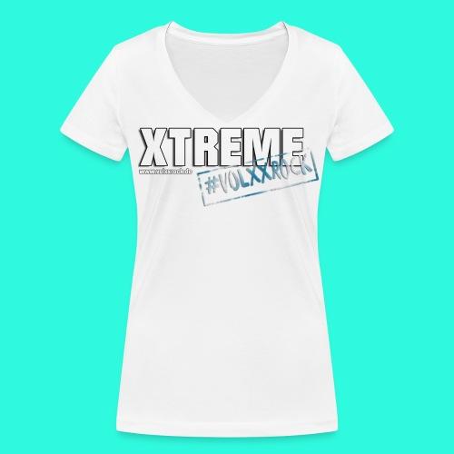 Xtreme Volxxrock Klassiker **Ladies** - Frauen Bio-T-Shirt mit V-Ausschnitt von Stanley & Stella