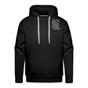 LINES - 2017 Premium Hoodie With White Print - Men's Premium Hoodie