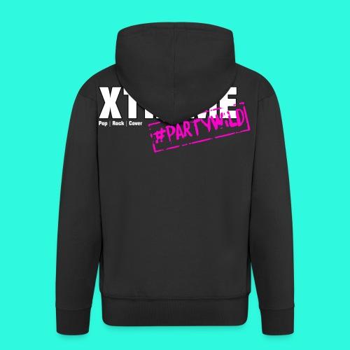 Xtreme Black Edition Hoodie Weste pink **Unisex** - Männer Premium Kapuzenjacke