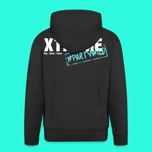 Xtreme Black Edition Hoodie Weste türkis **Unisex** - Männer Premium Kapuzenjacke