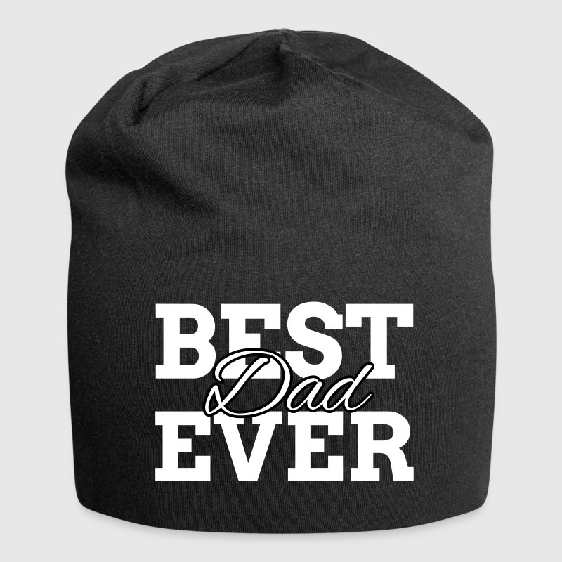 BEST DAD EVER Caps & Hats - Jersey Beanie