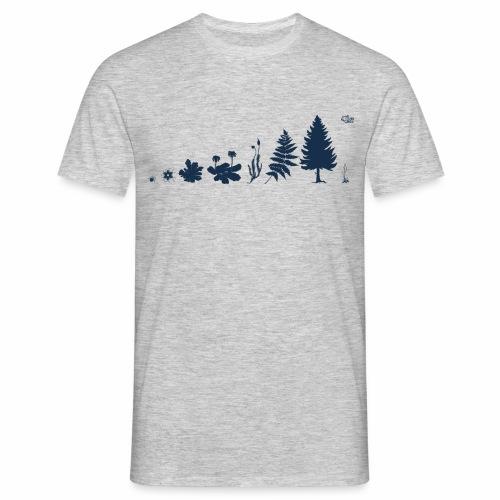 Evolution der Pflanzen - Männer T-Shirt