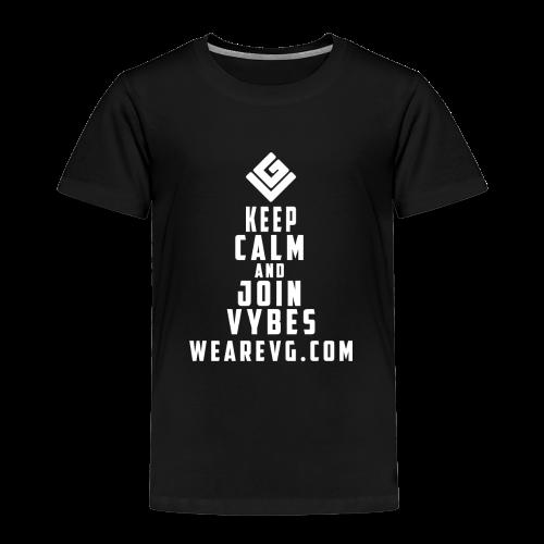 Join Vybes Kid's T-shirt (Black) - Kids' Premium T-Shirt