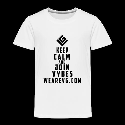 Join Vybes Kid's T-shirt (White) - Kids' Premium T-Shirt