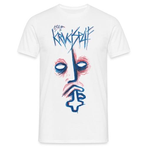 KRUCISPLIF T-SHIRT BLANC PURE - T-shirt Homme