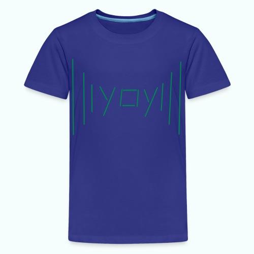 yay - Teenage Premium T-Shirt