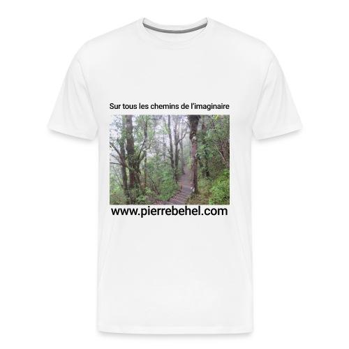T-Shirt Homme Chemins de l'Imaginaire - T-shirt Premium Homme