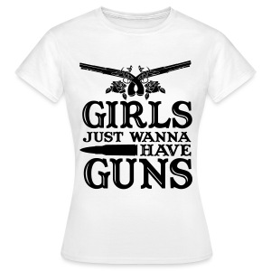 Girls just ... - Frauen T-Shirt