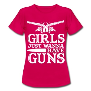 Girls just ... - Frauen T-Shirt