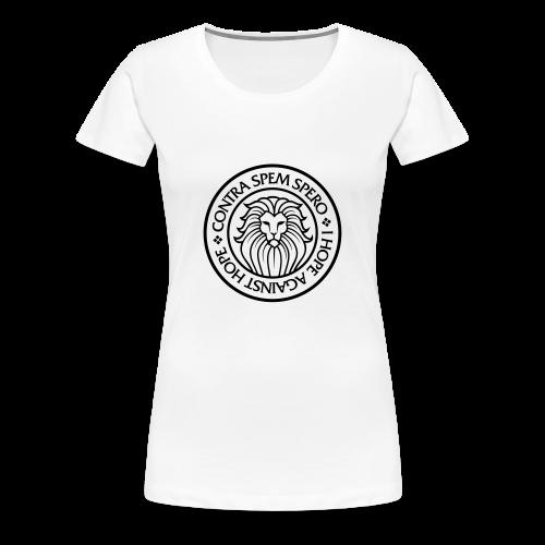 Contra Spem Spero - Women's Premium T-Shirt