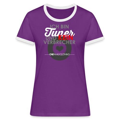 IBTUKV - Girl Shirt - Frauen Kontrast-T-Shirt