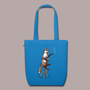 The Fox at the Bar - EarthPositive Tote Bag