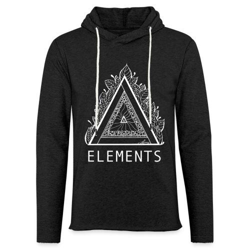 Kapuzensweat Unisex – Elements - Leichtes Kapuzensweatshirt Unisex