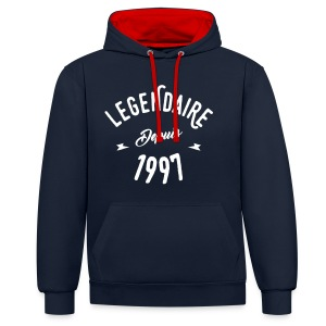 legendaire depuis 1997 - Sweat-shirt contraste