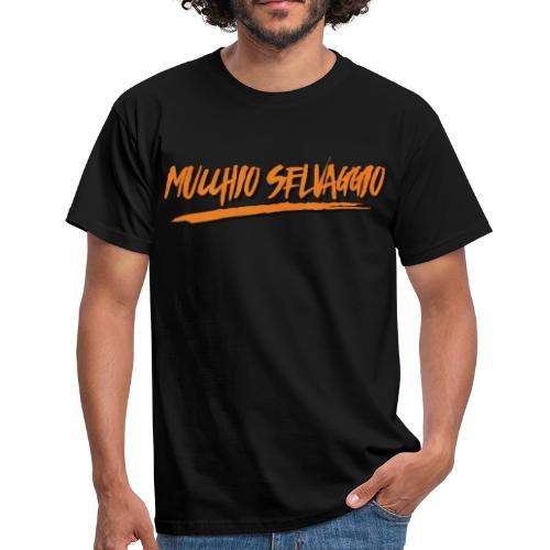 Mucchio Selvaggio 2016 Dirty Orange - Maglietta da uomo