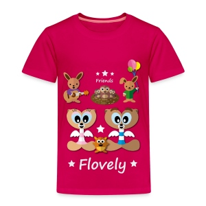Flovely Friends Premium T-Shirt  - Kinder Premium T-Shirt