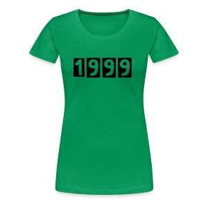 1999-women - Frauen Premium T-Shirt