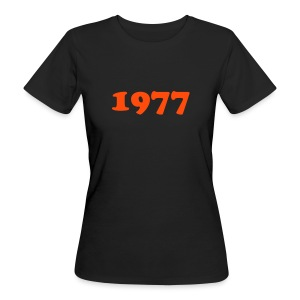 1977-women - Frauen Bio-T-Shirt