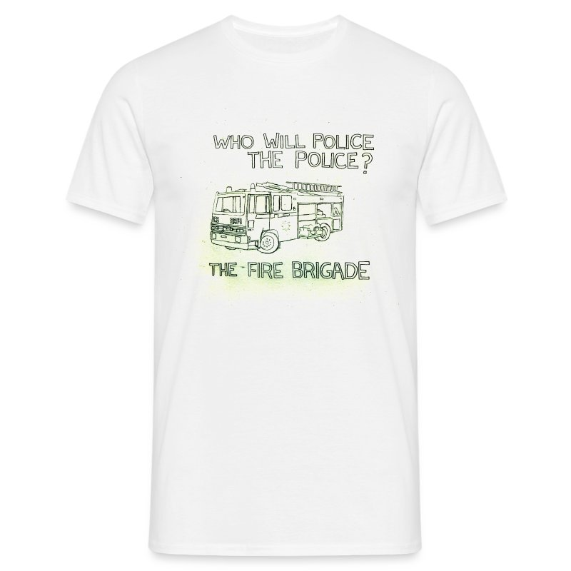 Who Will Police The Police? - Men's T-Shirt