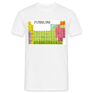 Periodic Table of the Elements (Revised) - Men's T-Shirt