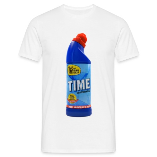 Time Bleach - Men's T-Shirt
