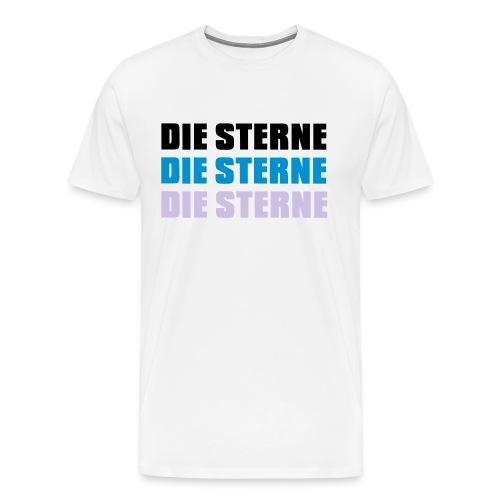 Die Sterne Dreifach fit T-Shirt (Herren) - Männer Premium T-Shirt