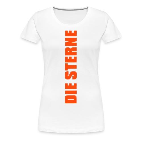 Die Sterne Sofa T-Shirt (Frauen) - Frauen Premium T-Shirt