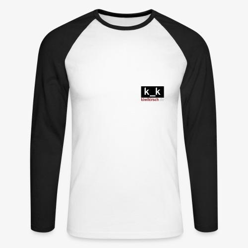 k_k • Baseball. (lang) - Männer Baseballshirt langarm