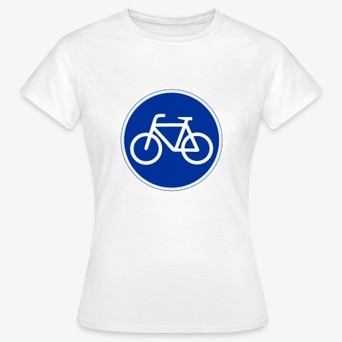 Critical Mass • Tshirt / fahrrad vorn / auto hinten. (w) - Frauen T-Shirt