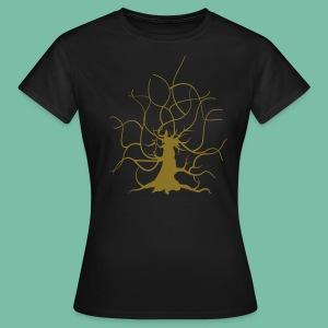 T-shirt Femme chêne guillotin Brocéliande Spirit - T-shirt Femme