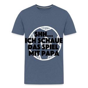 Shh...Spiel läuft T-Shirts - Teenager Premium T-Shirt