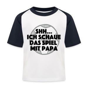 Shh...Spiel läuft T-Shirts - Kinder Baseball T-Shirt