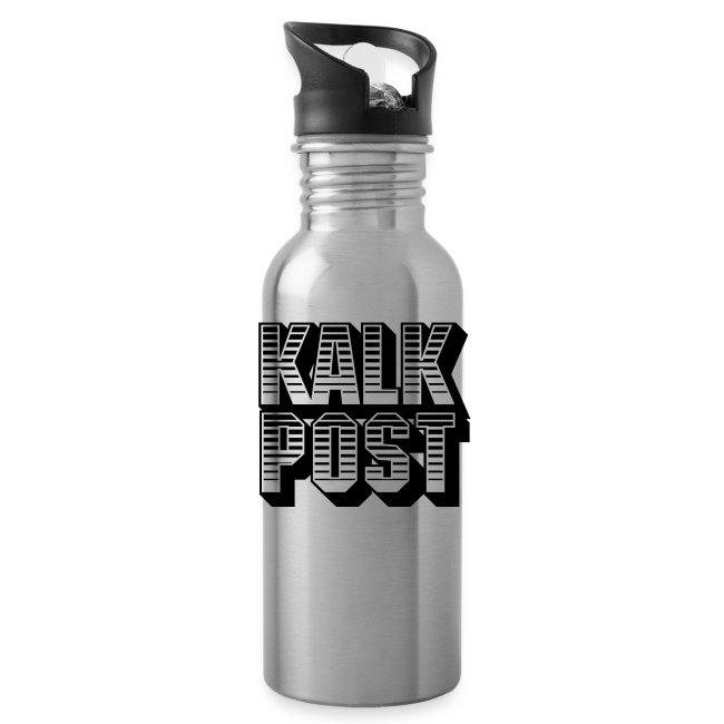 Trinkflasche mit Kalk Post Sunrise Aufdruck