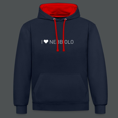 I Love Nebbiolo - Kontrast-hettegenser