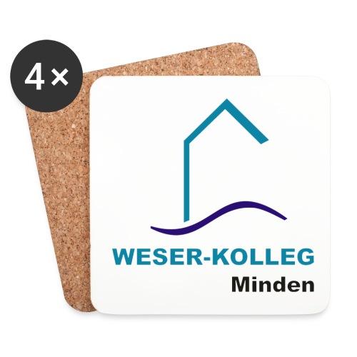 wkmlogooutline - Untersetzer (4er-Set)