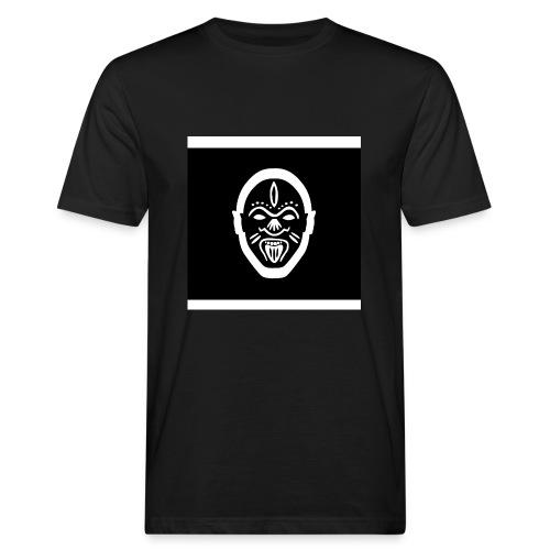 Good Voodoo Tribal Head Black - Men's Organic T-Shirt