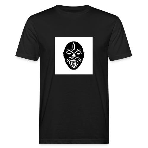 Good Voodoo Tribal Head White - Men's Organic T-Shirt