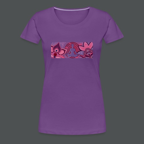 The Meditator - Premium T-skjorte for kvinner