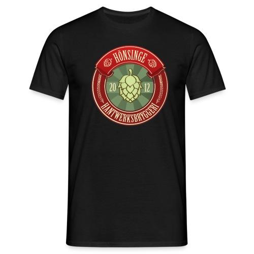 T-shirt w logo - T-shirt herr