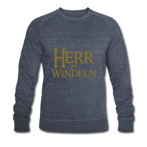 Herren Pullover Herr der Windeln - Männer Bio-Sweatshirt von Stanley & Stella
